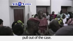 VOA60 Africa - Ivory Coast Former First Lady Goes on Trial