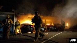 Поджоги в Нью-Йорке и Лос-Анджелесе