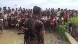 大批羅興亞人積壓孟加拉國邊界