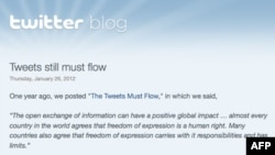 Tviter saopštio da sada ima mogućnost da cenzuriše poruke