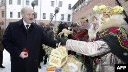Теперішній президент Білорусі Олександр Лукашенко.