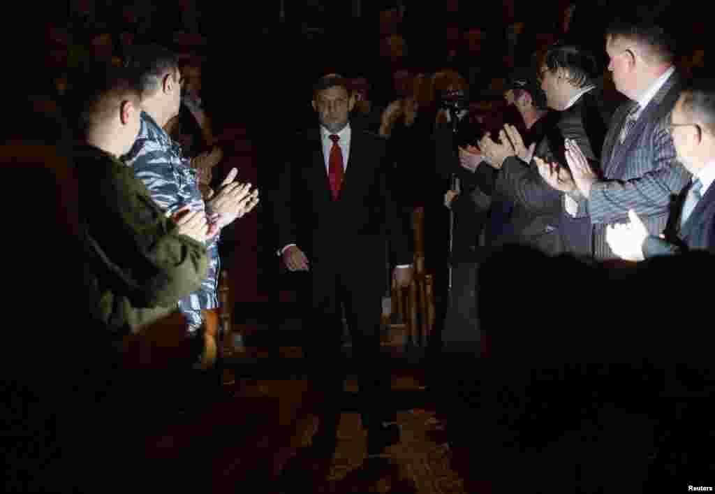 Захарченко на інавгурації.