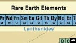 統稱稀土元素的17種化學元素列表