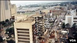 Pemboman di Oklahoma 19 April 1995 (foto:dokumentasi).