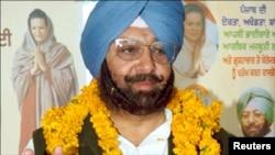 بھارتی پنجاب کے وزیراعلیٰ امریندر سنگھ