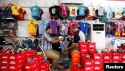 Առևտուր Բաղդադի Քարադա շուկայում (արխիվային լուսանկար)