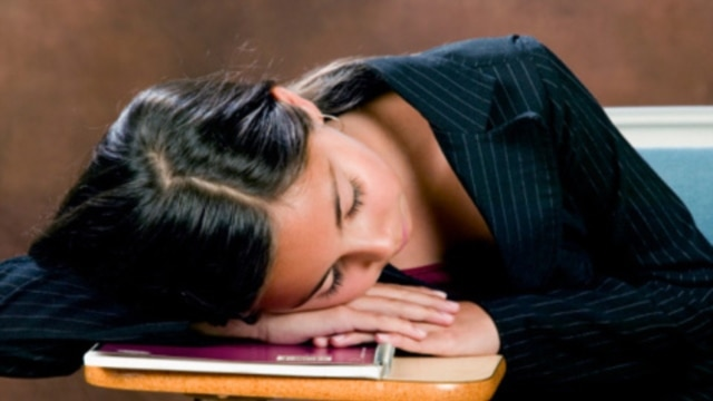 Surveys find that half of American teenagers are missing an average of up to 1½ hours of sleep every school night