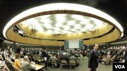 La sede de Naciones Unidas en Nueva York tendrá el mes más ocupado del año al recibir a cientos de funcionarios, presidentes y delegados de todo el mundo.