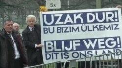 Hollandalı Aşırı Sağcı Liderden Türk Büyükelçiliği Önünde Protesto