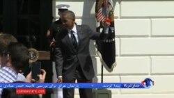 رژه سربازهای آسیب دیده جنگ از مقابل کاخ سفید