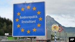 Granični prelaz između Austrije i Nemačke