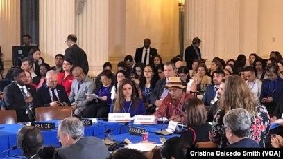 Los pueblos indígenas de Nicaragua han solicitado en el pasado a la OEA más ayuda para la proteccion a la comunidad indígena y territorios. [Foto: Archivo]