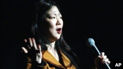 미국의 한국계 코미디언 마가렛 조. (자료사진)