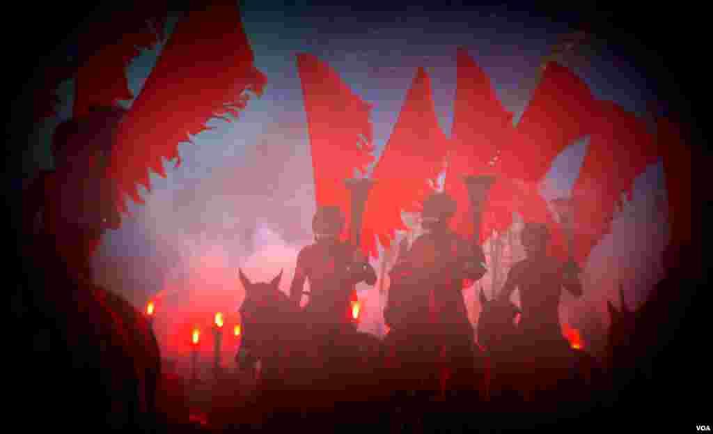 """""""Война и мир"""" 1812 года на Красной площади"""