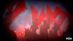 «Война и мир» 1812 года на Красной площади