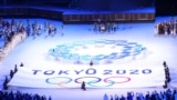 La cérémonie d'ouverture des Jeux olympiques de Tokyo 2020 - Stade olympique, Tokyo, Japon - 23 juillet 2021.