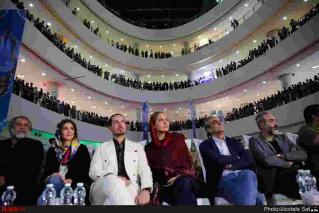 مراسم آغاز به کار پردیس سینمایی مگامال با حضور هنرمندان عکس: مصطفی صفری