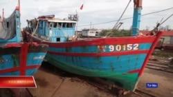 Truyền hình VOA 31/5/19: Việt Nam trưng bày tàu cá bị Trung Quốc đâm chìm ở Hoàng Sa