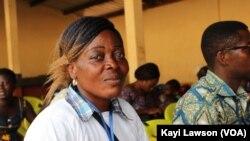 Essi Ahlidja à Tsévié, au Togo, le 26 juin 2019. (VOA/Kayi Lawson)