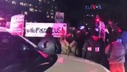 واشنگٹن میں ٹرمپ مخالف مظاہرہ