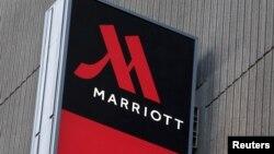 Hotel Marriott Marquis di Manhattan, New York (foto: dok). Merger Marriott dan Starwood, bila terealisasi, akan menghasilkan sebuah perusahaan hotel terbesar di dunia.