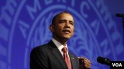 Obama dijadwalkan akan memberikan pidato mengenai ekonomi dan pekerjaan di AS 8 September mendatang (foto:dok).