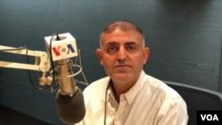 VOA Intern, John Saleh