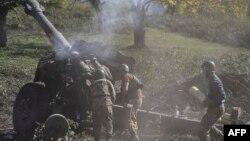 Nagorno-Karabakh ေဒသမွာ ျဖစ္ပြားေနတဲ့ တိုက္ပဲြျမင္ကြင္း။ (ေအာက္တိုဘာ ၂၅၊ ၂၀၂၀)