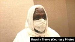 Mahamoud Dicko à Badalabougou le 24 juillet 2020. (VOA Bambara)