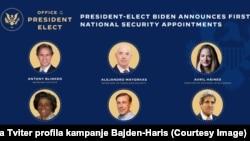Fotografije nekih od nominovanih članova buduće predsjedničke administracije (Foto: Tviter profil kampanje Bajden-Haris)