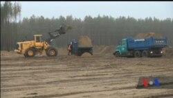 У чорнобильській зоні розпочали будівництво централізованого сховища для відпрацьованого ядерного палива. Відео