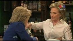 Clinton Seeks to Boost Image Before Democratic Debate