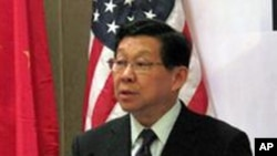 中国商务部长陈德铭(资料照片)