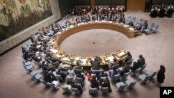 Dewan Keamanan PBB mengadakan rapat di markas PBB di New York (foto: dok).