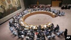 """Los legisladores escribieron que Venezuela está en contra de """"la búsqueda de la paz y la seguridad internacionales, la promoción de los derechos humanos y las libertades fundamentales para todos""""."""