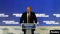 Президент России Владимир Путин. Москва, Россия. 2 октября 2013 г.