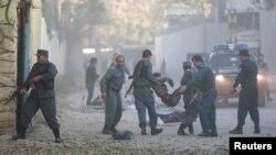 حمله در ساحۀ شدیداً محافظت شدۀ دیپلوماتیک شهر کابل به وقوع پیوسته است