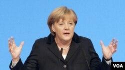 Los países europeos apuestan por el liderazgo de la canciller alemana Angela Merkel en medio de la crisis de la Eurozona.