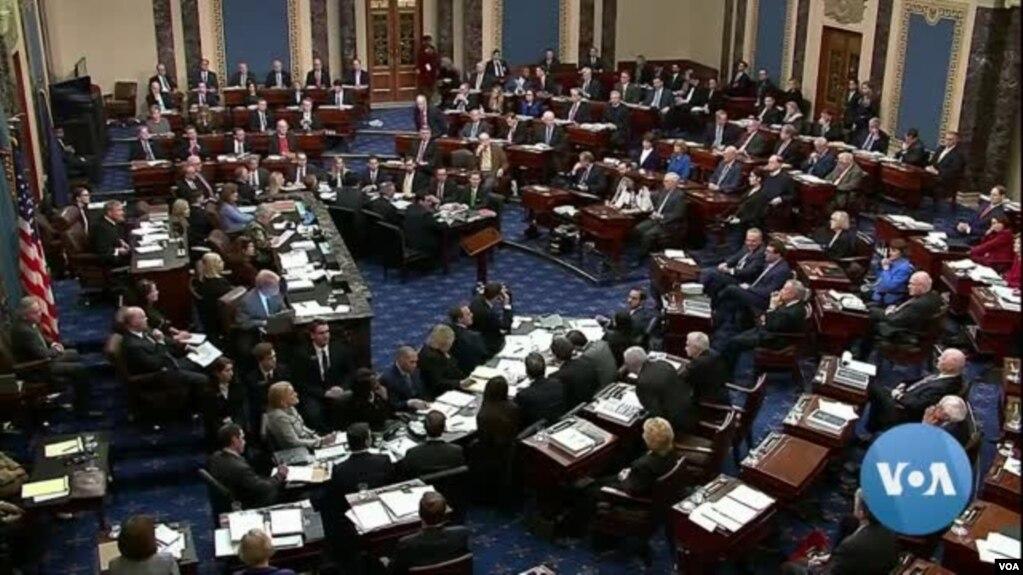 Phe Cộng hòa của Thượng viện Mỹ bác bỏ yêu cầu triệu tập nhân chứng cho phiên xử luận tội TT Trump hôm 31/1.