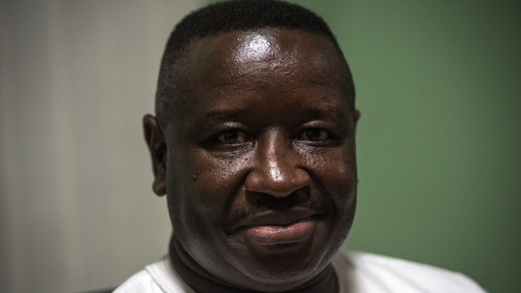 Le nouveau président sierra léonais, Julius Maada Bio, Freetown, le 7 mars 2018. (J. Patinkin/VOA)