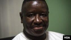Julius Maada Bio wanda yanzu yake da 'yar tazara a sakamakon zaben da aka sanar
