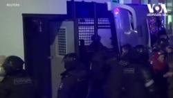 რუსეთში პოლიციამ ასობით აქციის მონაწილე დააკავა