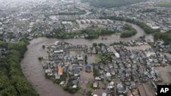 Lụt ở Nhật Bản