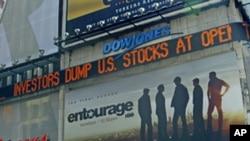 امریکی معیشت کا منفی رجحان برقرار