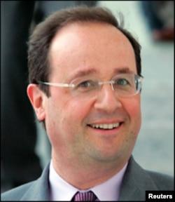 Francois Hollande na jam'iyar PS ta kasar Faransa