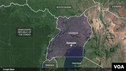 Ikarata y'ahahereye Uganda
