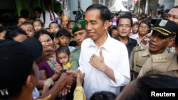 Gubernur DKI Jakarta, Joko Widodo atau Jokowi, dinilai berpeluang besar memenangkan pilpres 2014 (foto: dok).