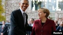 La relación entre el expresidente Obama y la canciller alemana, Angela Merkel, siempre fue especial.