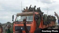 Wapiganaji wa M23 wawasili Goma