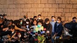 香港民主派初選47人案律政司覆核首天 黃碧雲准保釋伍健偉續還柙